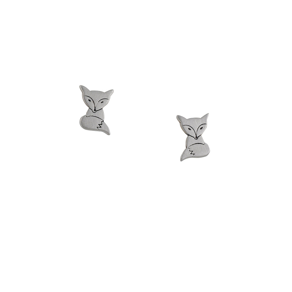 TASHI - Fox Stud Earrings