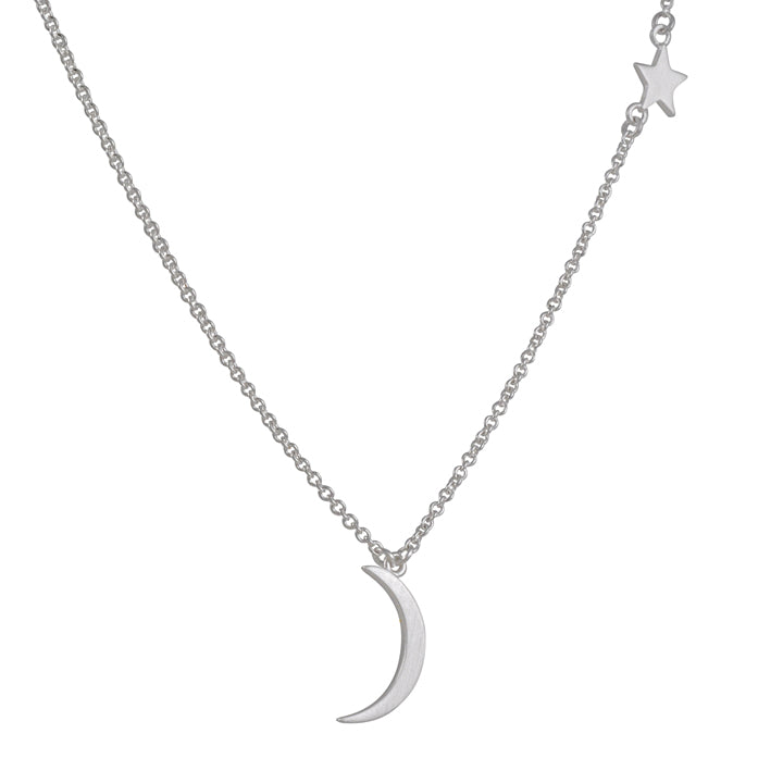 TASHI - Moon and Star Necklace