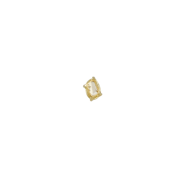 Tura Sugden - Tiny Slice Diamond Single Stud