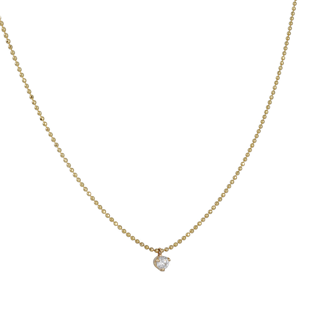 Zoe Chicco - Diamond Pendant Necklace