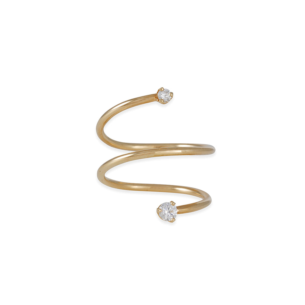 Zoe Chicco - Wrap Around Diamond Ring