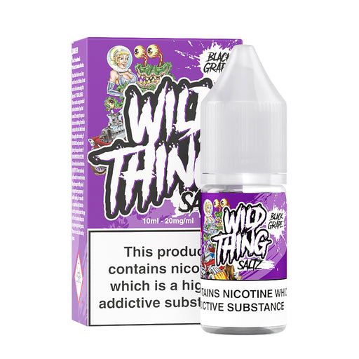 Wild Thing Saltz Black Grape Nicotine Salt E-Liquid