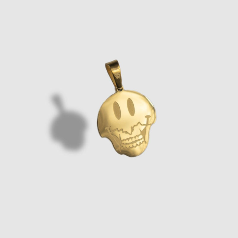 Dead Smiley Pendant [G] - WARPEDSENSE