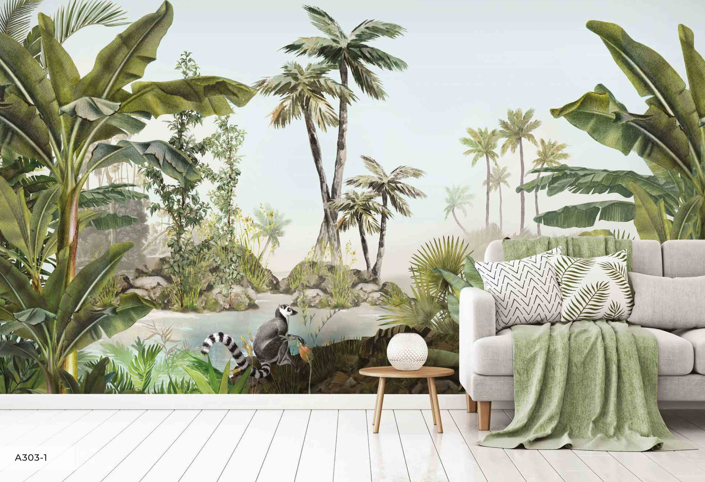 Papier peint Jungle luxuriante - Papier peint - muralconcept