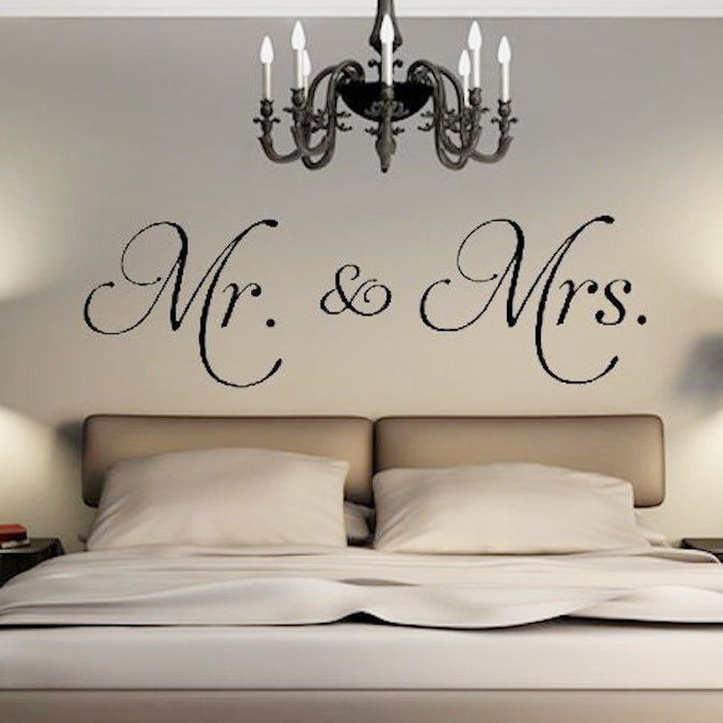 Sticker Mural - Citation Mr & Mrs - stickers - muralconcept