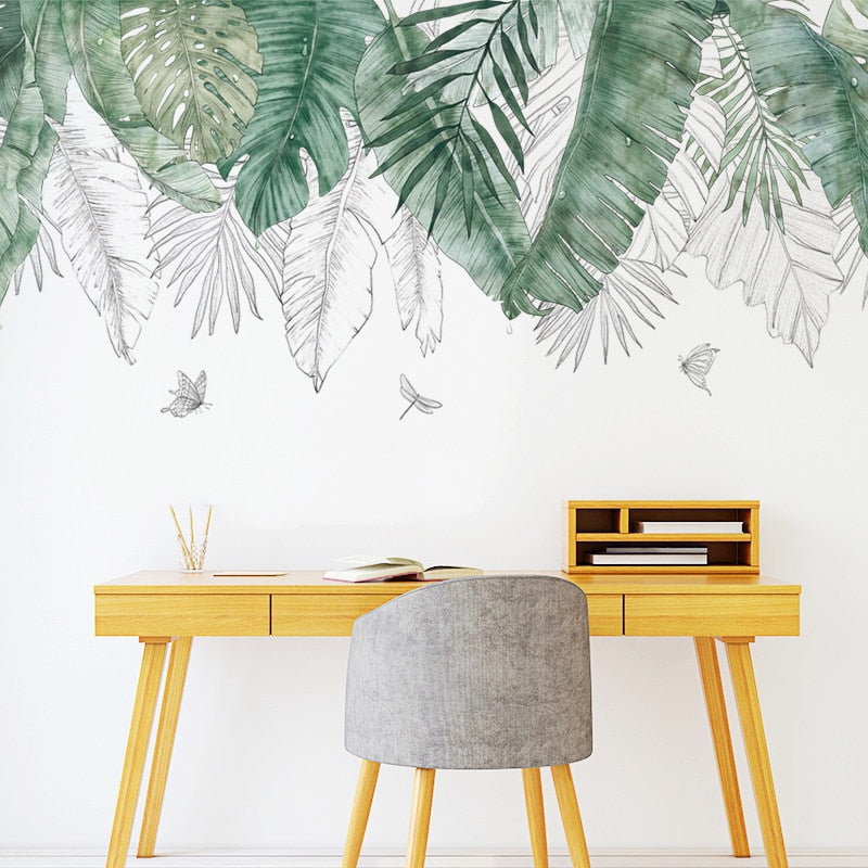 Sticker Mural - Jungle Naturelle - stickers - muralconcept