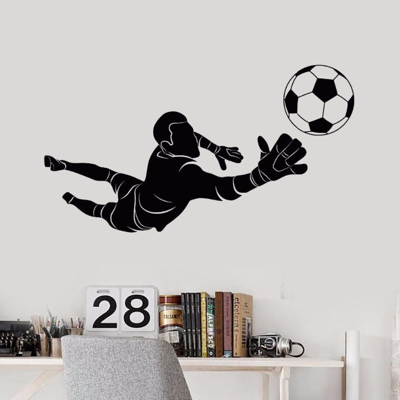 Sticker Mural - Football Gardien - stickers - muralconcept