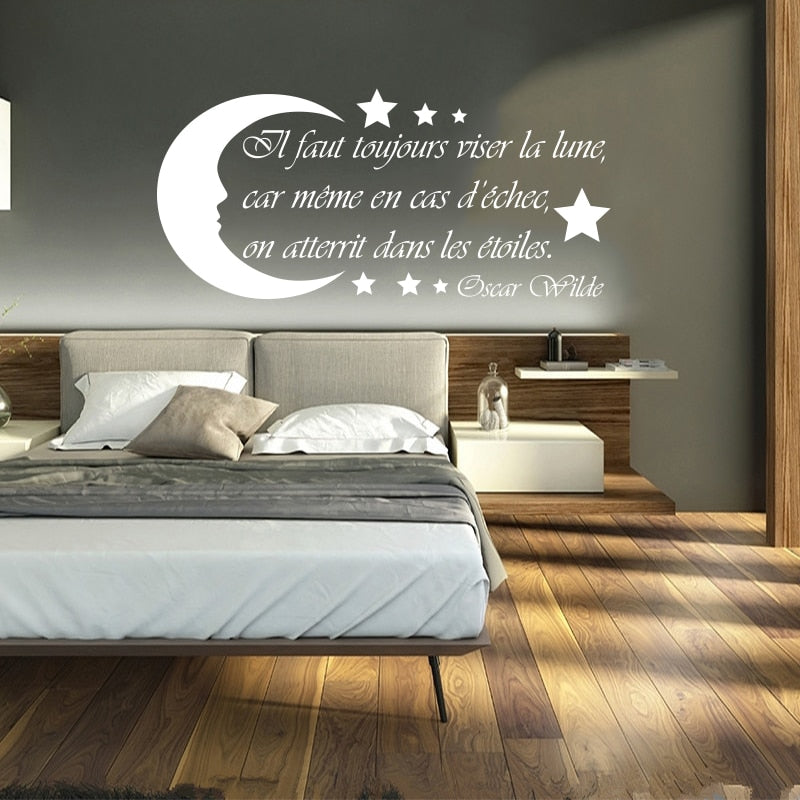 Sticker Mural - Citation Wilde - stickers - muralconcept
