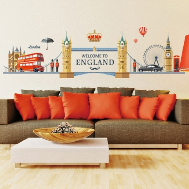 Sticker Mural - Monument Anglais Londres - stickers - muralconcept