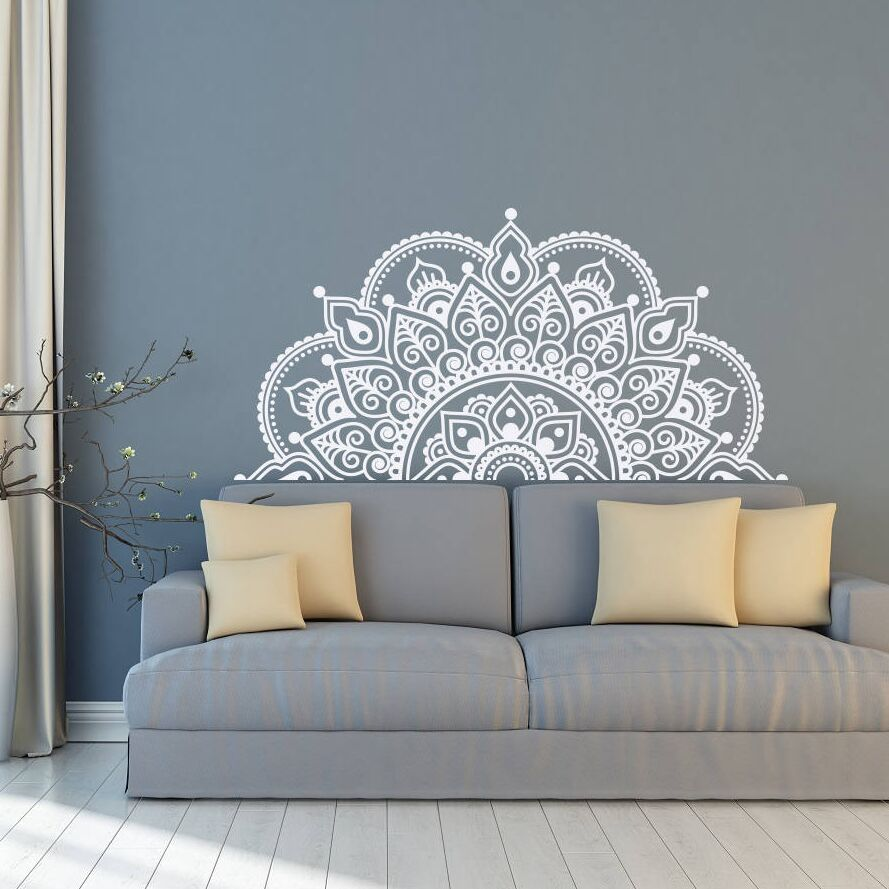 Sticker Mural - Mandala bohème - stickers - muralconcept