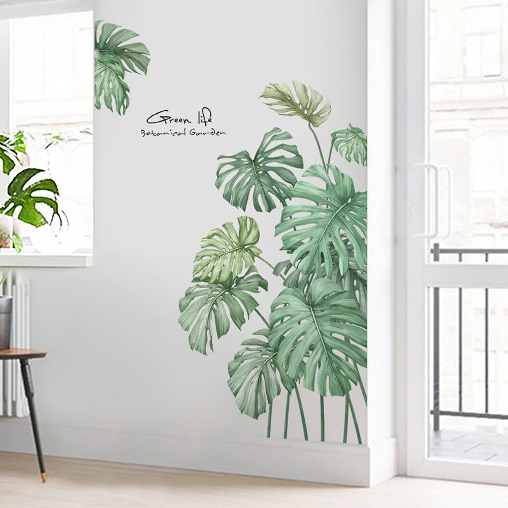 Sticker Mural - Feuille Palmier - stickers - muralconcept