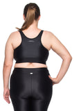 Top Ju New Plus Size Preto