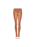 Calça Legging com Pé Rose Gold
