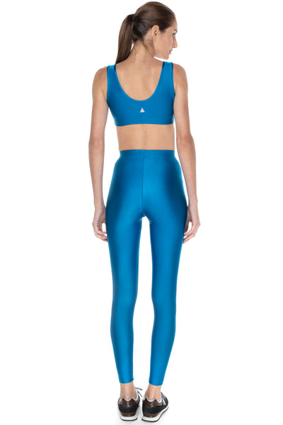 Calça Legging Basic Color Azul