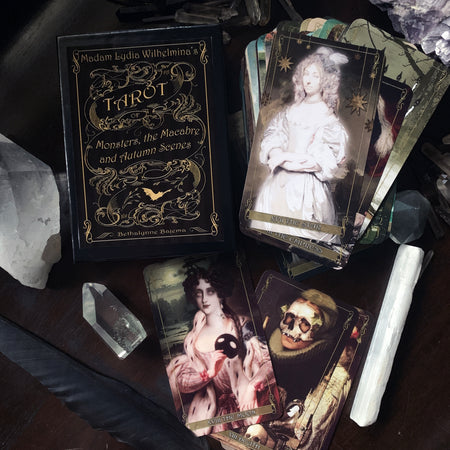 Madam Lydia Wilhelmina's Tarot of Monsters, the Macabre, and Autumn Scenes