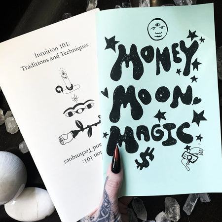 Money Moon Magic & Intuition 101 Zine Pack