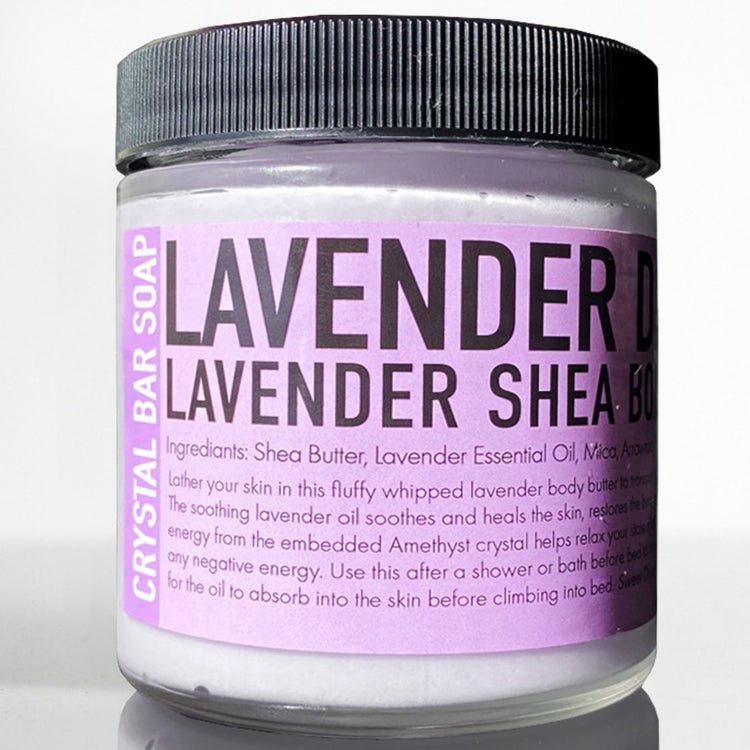 Lavender Dreams Body Butter with Amethyst