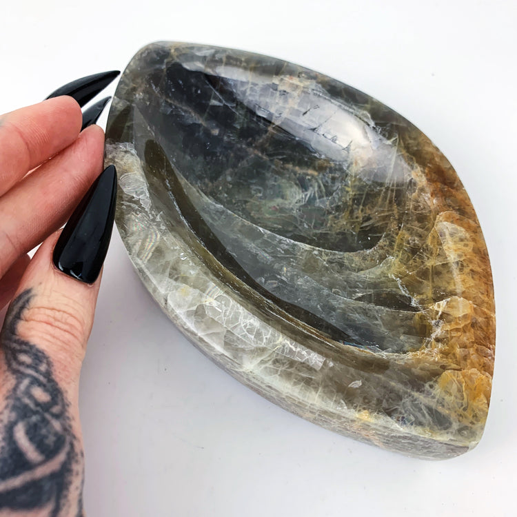 Black Moonstone Bowl 10