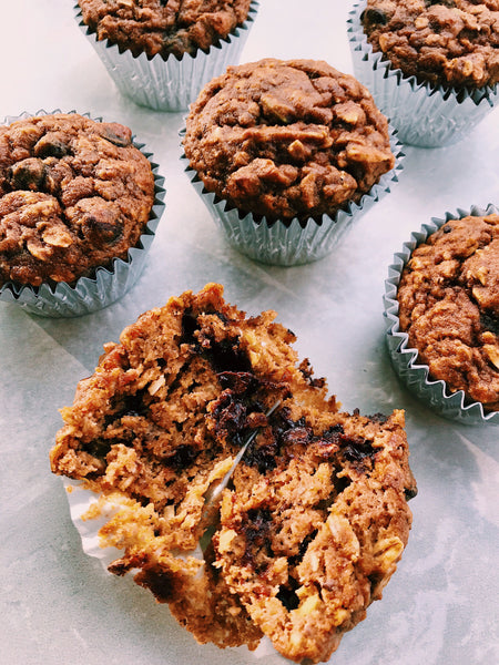 Pumpkin Oaty Muffins Recipe