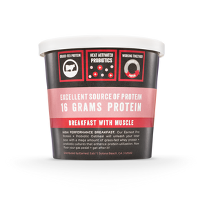 Apple Crush Protein & Probiotic Oatmeal Cups