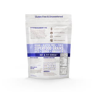 Blueberry Chia Superfood Oatmeal Bags