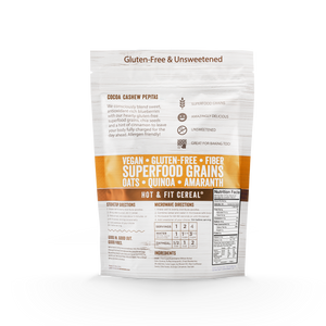 Cocoa Cashew Superfood Oatmeal Bags