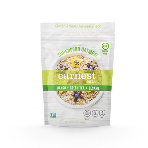 Mango Green Tea Superfood Oatmeal Bags