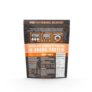 Mighty Maple Protein & Probiotic Oatmeal Bags