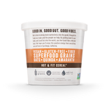 Cocoa Cashew Superfood Oatmeal Cups