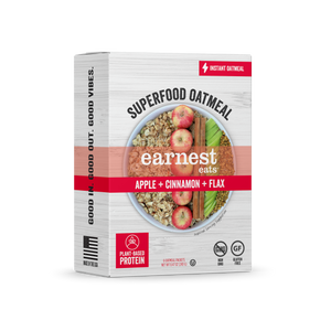 Apple Cinnamon Superfood Instant Oatmeal Packets