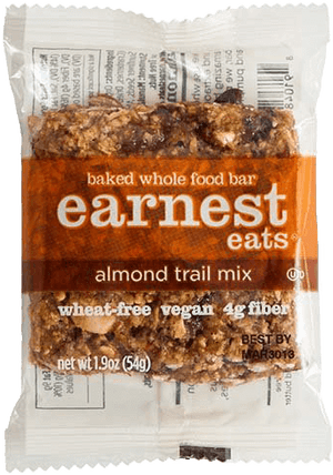 Almond Trail Mix Almond Butter Baked Bars
