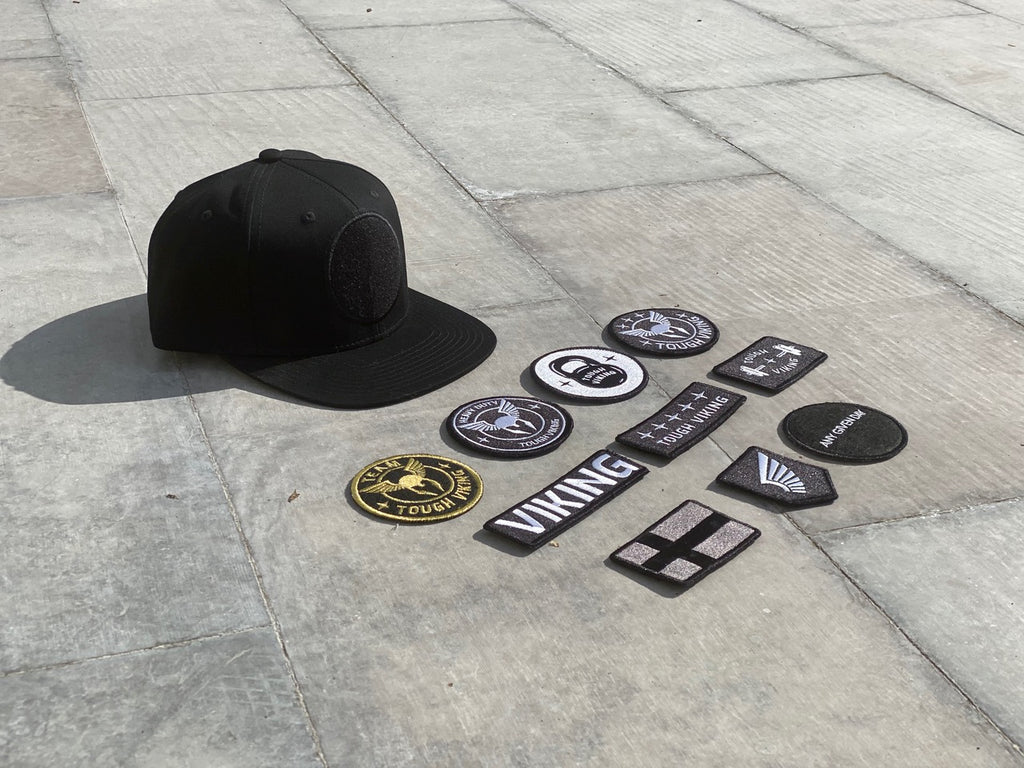 Tough Viking Super Premium Cap Flat + 2 Patches