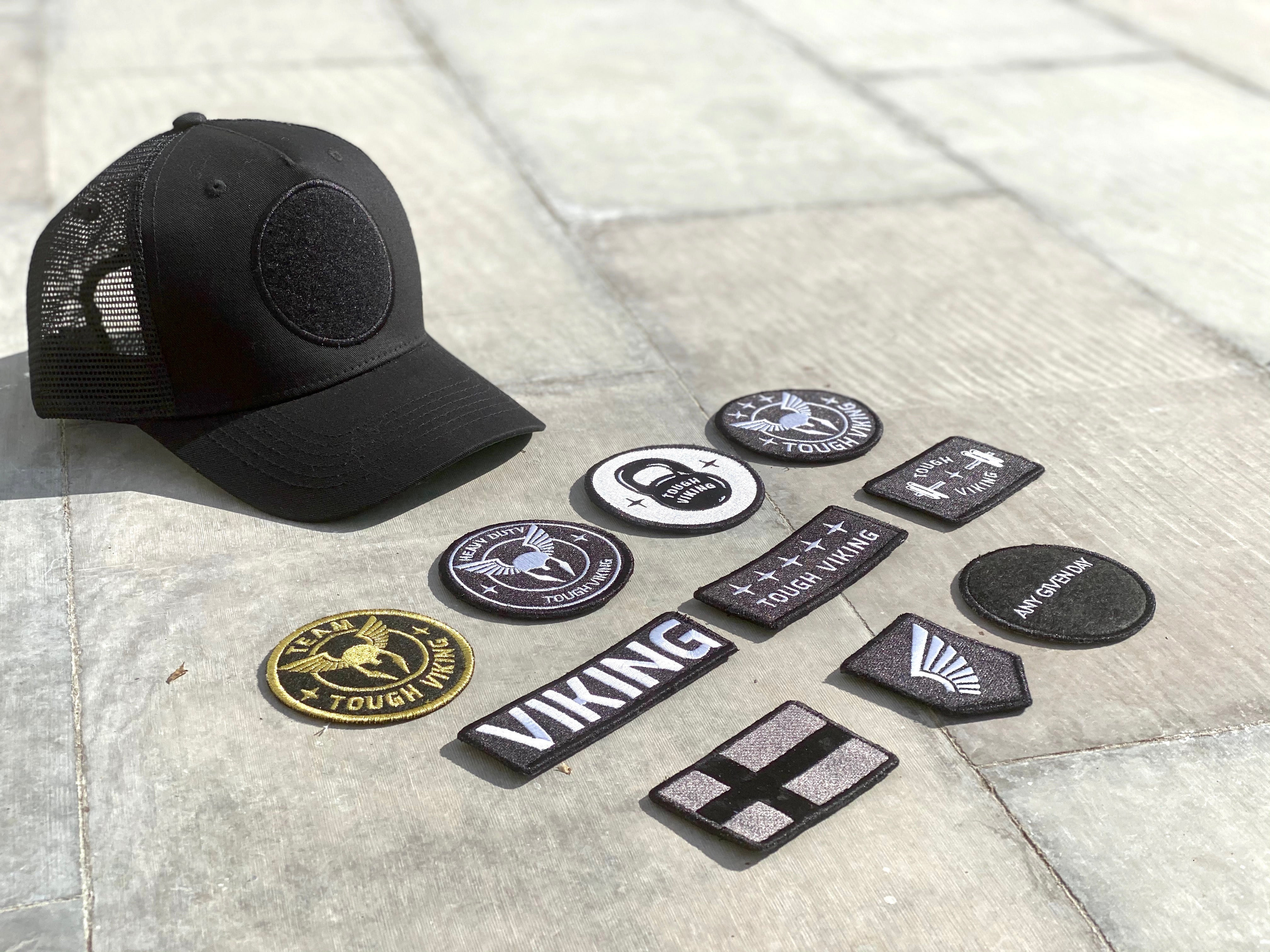 Tough Viking Super Premium Cap Trucker + 2 Patches