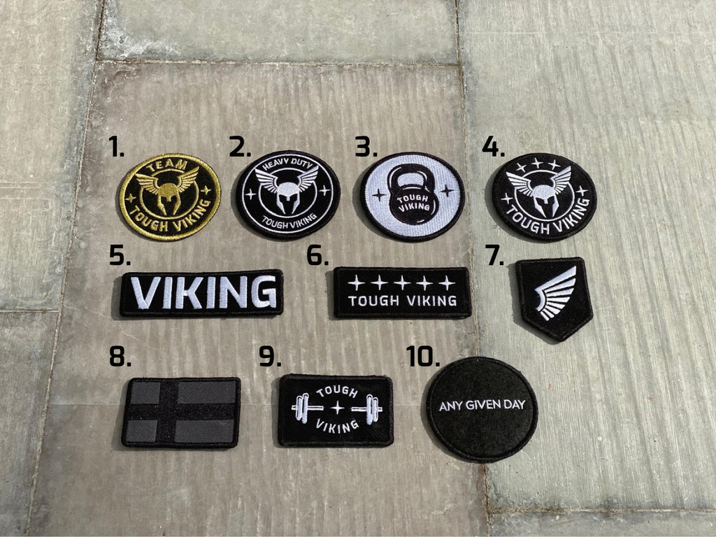 Tough Viking Patches