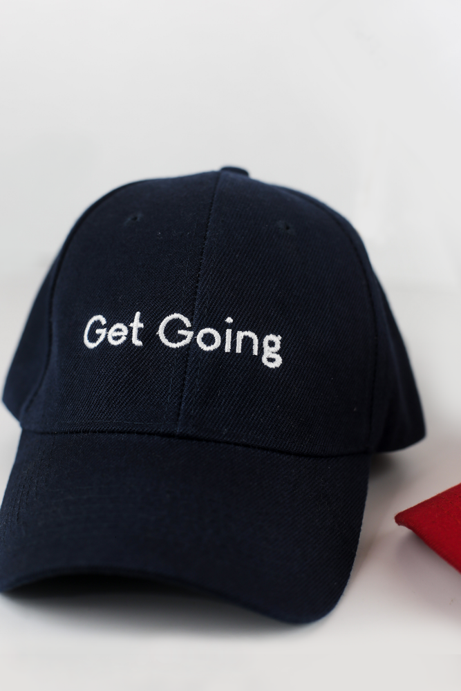 Get Going Cap in Navy