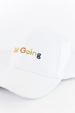 Get Going Multicolored Cap in Snow