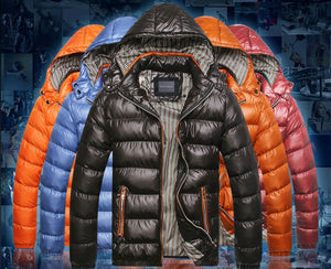 Puffy Winter Jacket with Hood