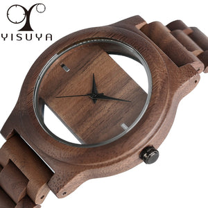 Acrylic Natural Wood Watch