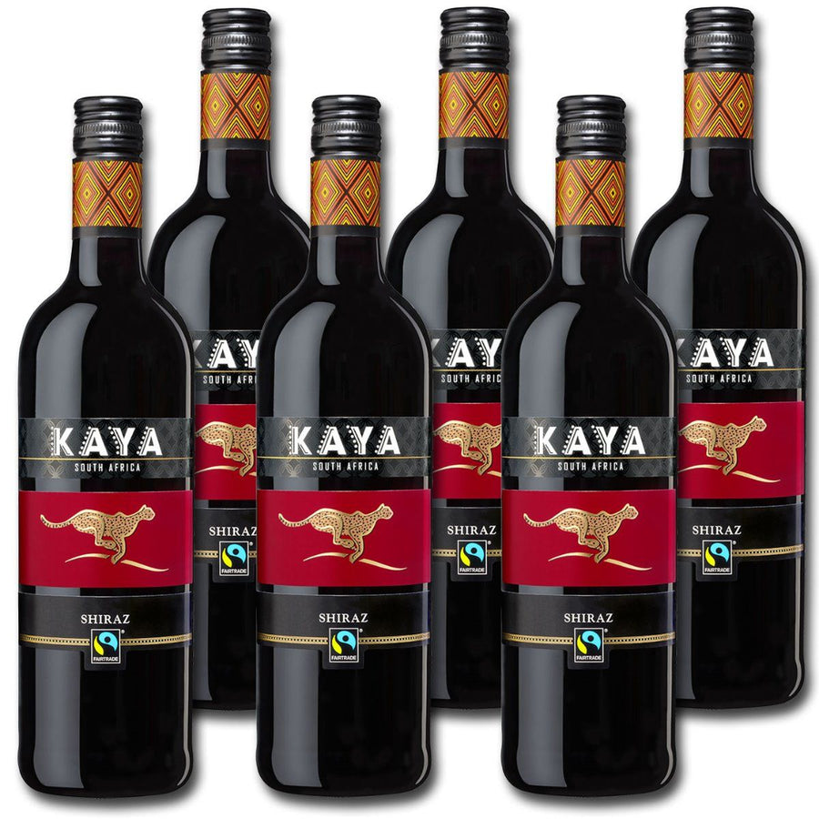 KAYA® Fairtrade Shiraz Trocken  0,75 L (6er Karton)