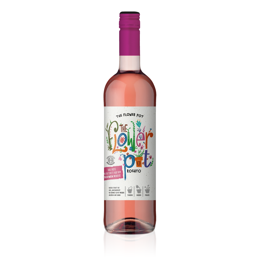 THE FLOWER POT® Rosato Terre di Chieti IGP 0,75 L (Einzelflasche)