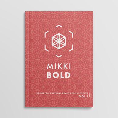 Geometric Patterns Ready For Tattooing. Vol 1 by Mikki Bold