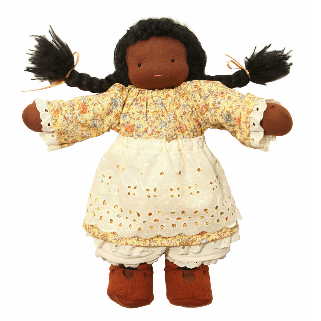 "16"" Black Waldorf Doll"