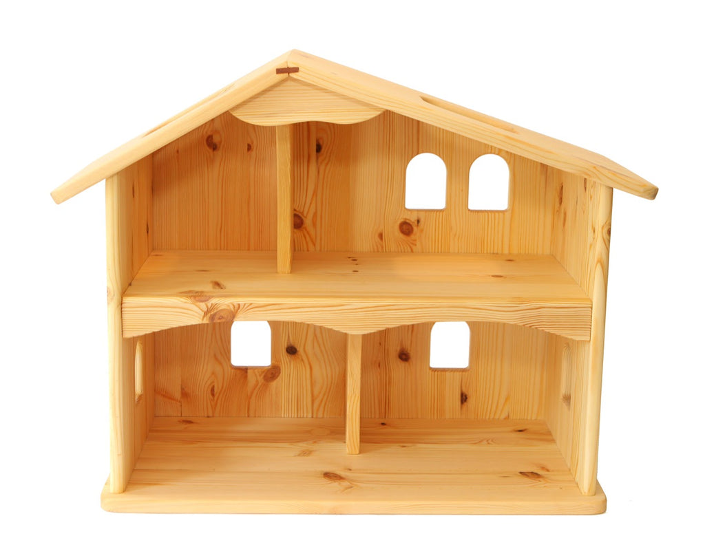 Rustic Wooden Dollhouse