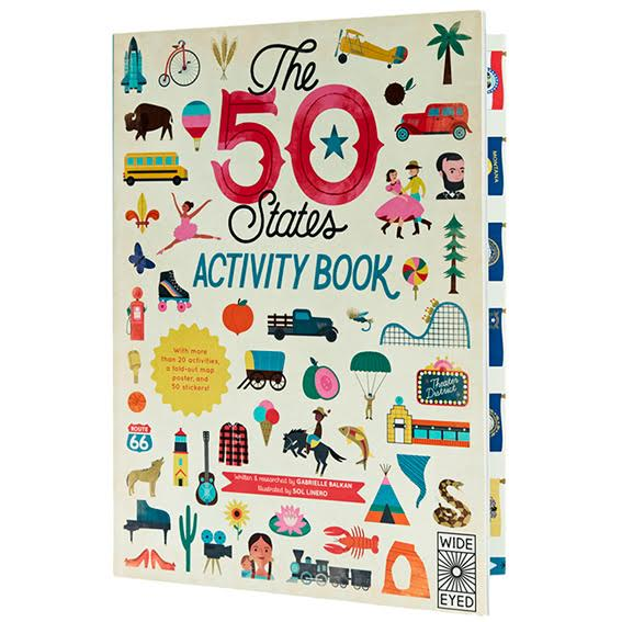 50 States Activity Book