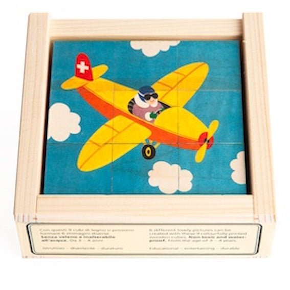 9 Piece Transportation Puzzle