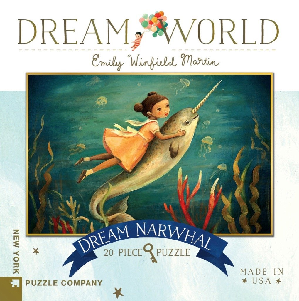 Dream Narwhal Mini 20 Piece Puzzle