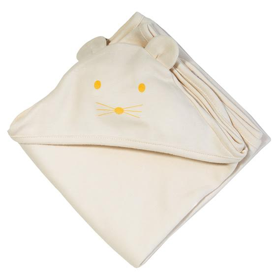 Fog Linen Hooded Swaddle