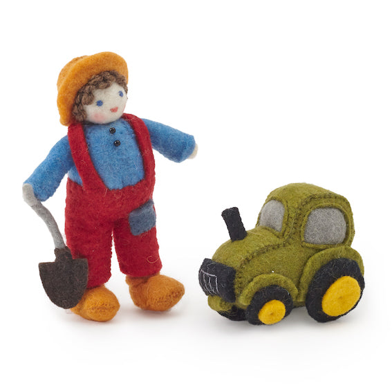 Felt Farmer Boy Set