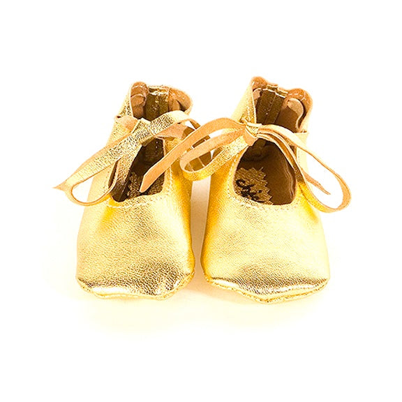 Gold Maryjanes