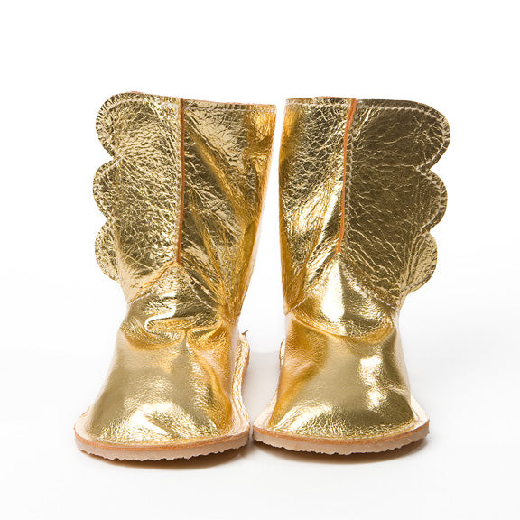 Gold Wing Boots